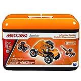 Meccano 6026703 Junior Advanced Toolbox, 8 Model Kit