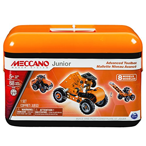 Meccano-Erector Junior Advanced Toolbox,…