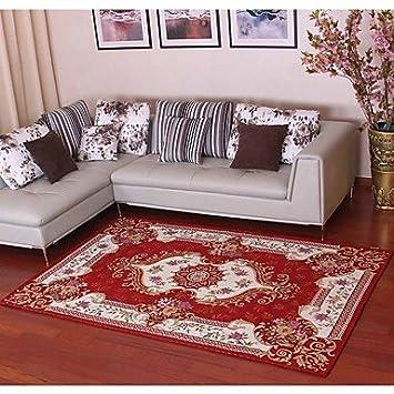 XIIDE Neue Ankunft Europäischen Stil Anti Rutsch Premium Jacquard Teppich  Für Wohnzimmer Rot/