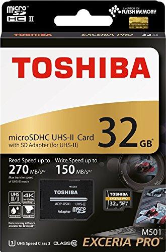 Amazon.com: Toshiba 32 GB 32 G EXCERIA Pro M501 con ...