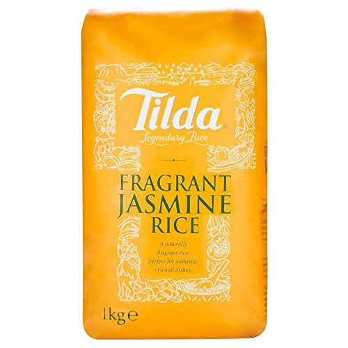 Tilda Fragranti Jasmine Rice (1Kg) - Pack of 6 by Tilda