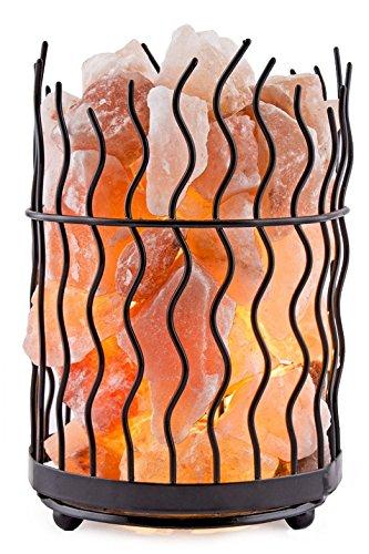 Himalayan Salt Solution NK639691 Pillar Lamp