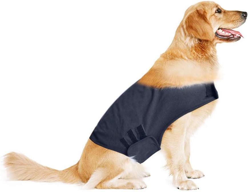 NIBESSER Beruhigungsweste für Hunde Hundemantel zur