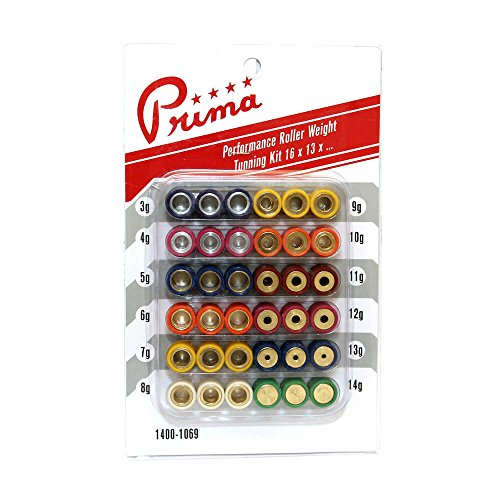 (Prima Roller Weight Tuning Kit (16x13, 3g to 14g))