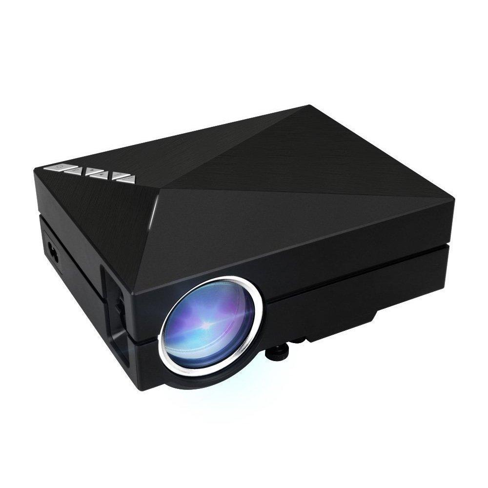 SODIAL(R) Mini Projector GM60A WIFI 130 Inch Screen 800x480 1000 Lumen Enjoy Video Movie Game by SODIAL(R)