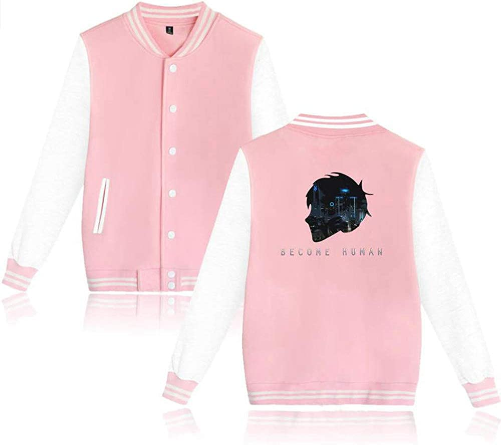 biaohe Detroit Become Human Fation Casual and Daily wear Detroit Pink XXXL