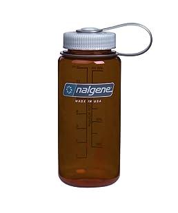 Nalgene Wide Mouth Water Bottle, 1-Pint, Rustic Orange