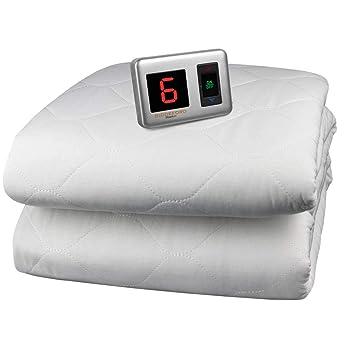 Amazoncom Biddeford Blankets Heated Mattress Pad Size Queen