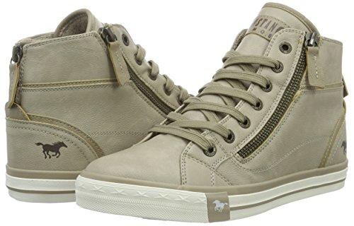 Mustang 1209-502-243, Zapatillas Altas Para Mujer, Blanco (243 Ivory), 41 EU: Amazon.es: Zapatos y complementos