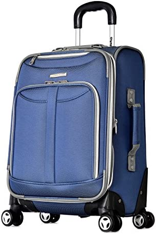 Olympia Carry-On, Denim Blue, 20 Inch