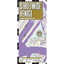 Venice Laminated City Center Street map Streetwise (Michelin Streetwise Maps)