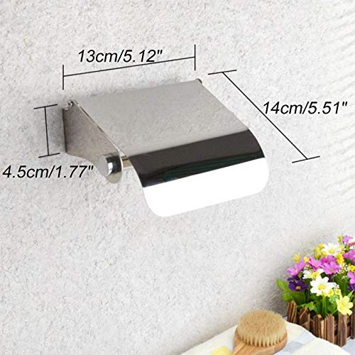 Gold Happy Stainless Steel Tissue Boxes Toilet Waterproof Paper Storage Holder Hanging Container for Roll Paper Kitchen Accessories