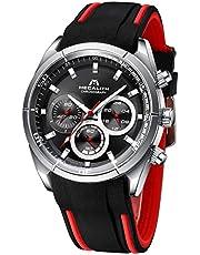 Herren Uhren Männer Militär Sport Wasserdicht Chronographen Große Schwarz Armbanduhr Mann Roségold Leuchtend Business Modisch Designer Analoge Gummi Uhr