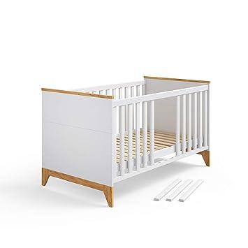 Vicco Babybett Malia 3 in 1 Babybett, Kinderbett, Juniorbett 140x70 ...