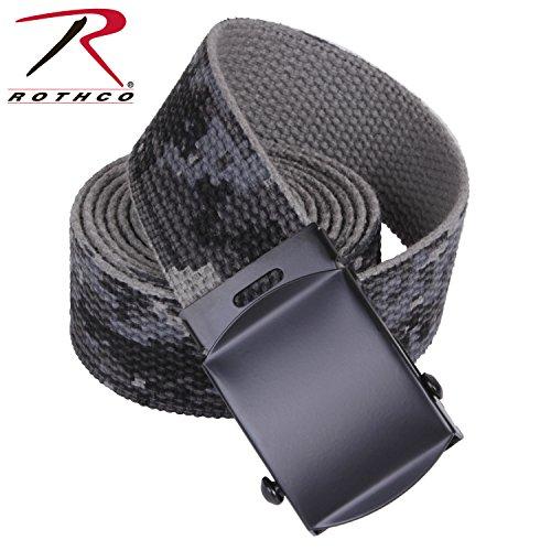 Rothco Reversible Web Belt, Subdued Urban Digital Camo, 54
