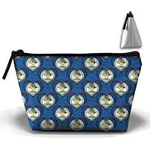 Belize Love Cosmetic Bag Makeup Bags Pouch Stationery Bag Pencil Base Learning Bools Handbag Organizer Bag