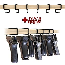 Sylvan Arms Handy Gun Hangers 6 Pack for Shelves and Safes Works For All Handguns Review