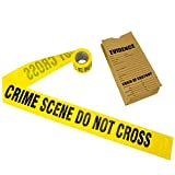 Toys : Crime Scene Tape, 100 ft Roll