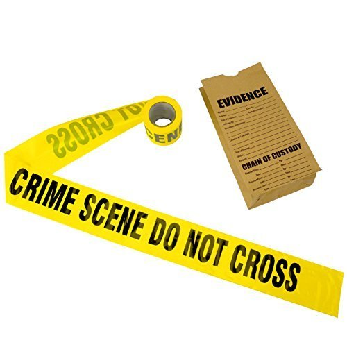 Crime Scene Tape, 100 ft Roll]()