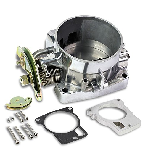 (85mm Aluminum Air Intake Manifold Throttle Body For 98-02 F-Body Chevy Camaro / Pontiac Firebird 5.7L V8)