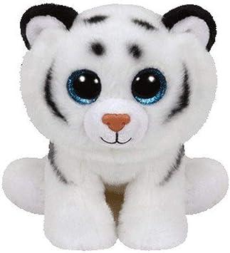 TY - Classics Tundra, tigre de peluche, 15 cm, color blanco (42106TY) , color/modelo surtido: Amazon.es: Juguetes y juegos