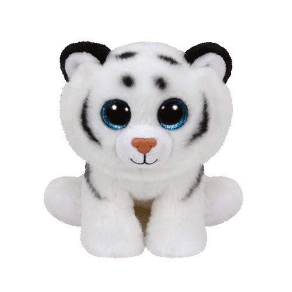 Ty Beanie Babies - Tundra the White Tiger - 15cm