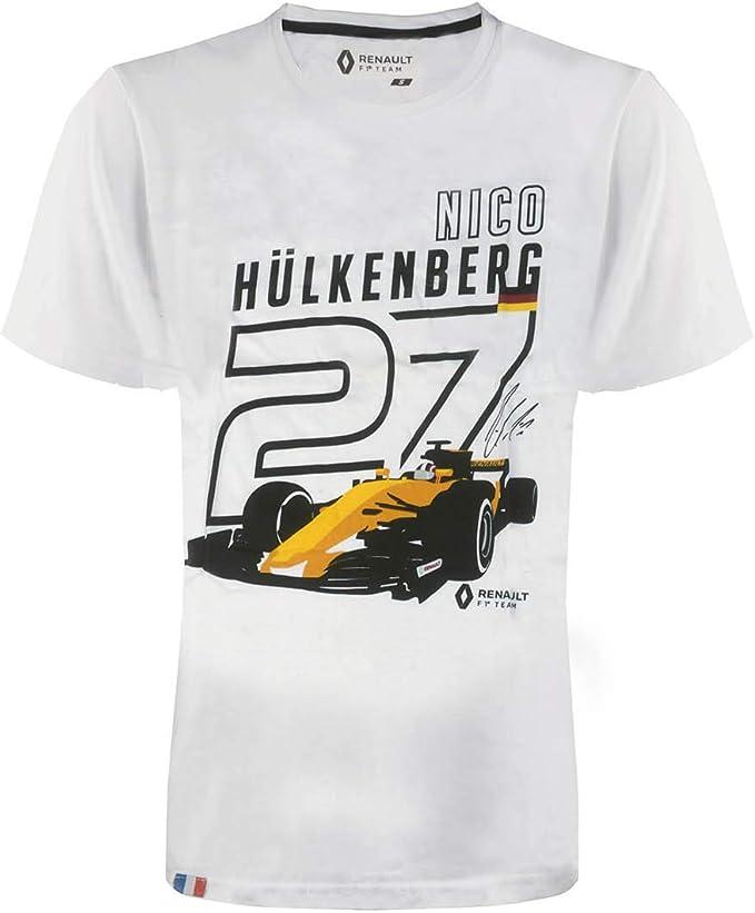 Renault F1 Team – Camiseta para hombre – Nico Hülkenberg RS #27: Amazon.es: Ropa y accesorios
