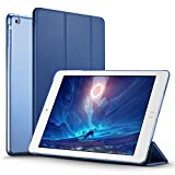 ESR iPad mini Case, iPad mini 2 Case, ESR iPad mini 3 Smart Stand Case with Auto Sleep/Wake Function and Translucent Back for Apple iPad mini 1/iPad mini 2/iPad mini 3 (Navy Blue)