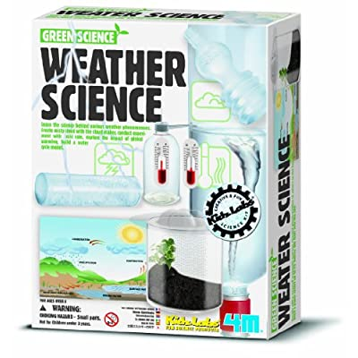 4M Weather Station Kit - Climate Change, Global Warming, Lab - STEM Toys Educational Gift for Kids & Teens, Girls & Boys: Toys & Games