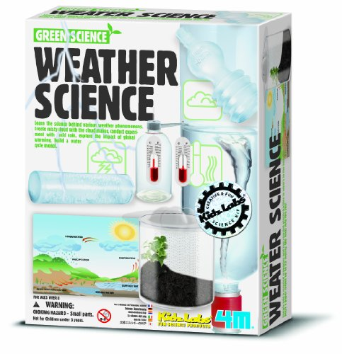4M Weather Station Kit - Climate Change, Global Warming, Lab - STEM Toys Educational Gift for Kids & Teens, Girls & Boys (Gifts Station Weather)