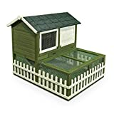 Ware Manufacturing Rabbit Ranch Hutch & Pen Combo