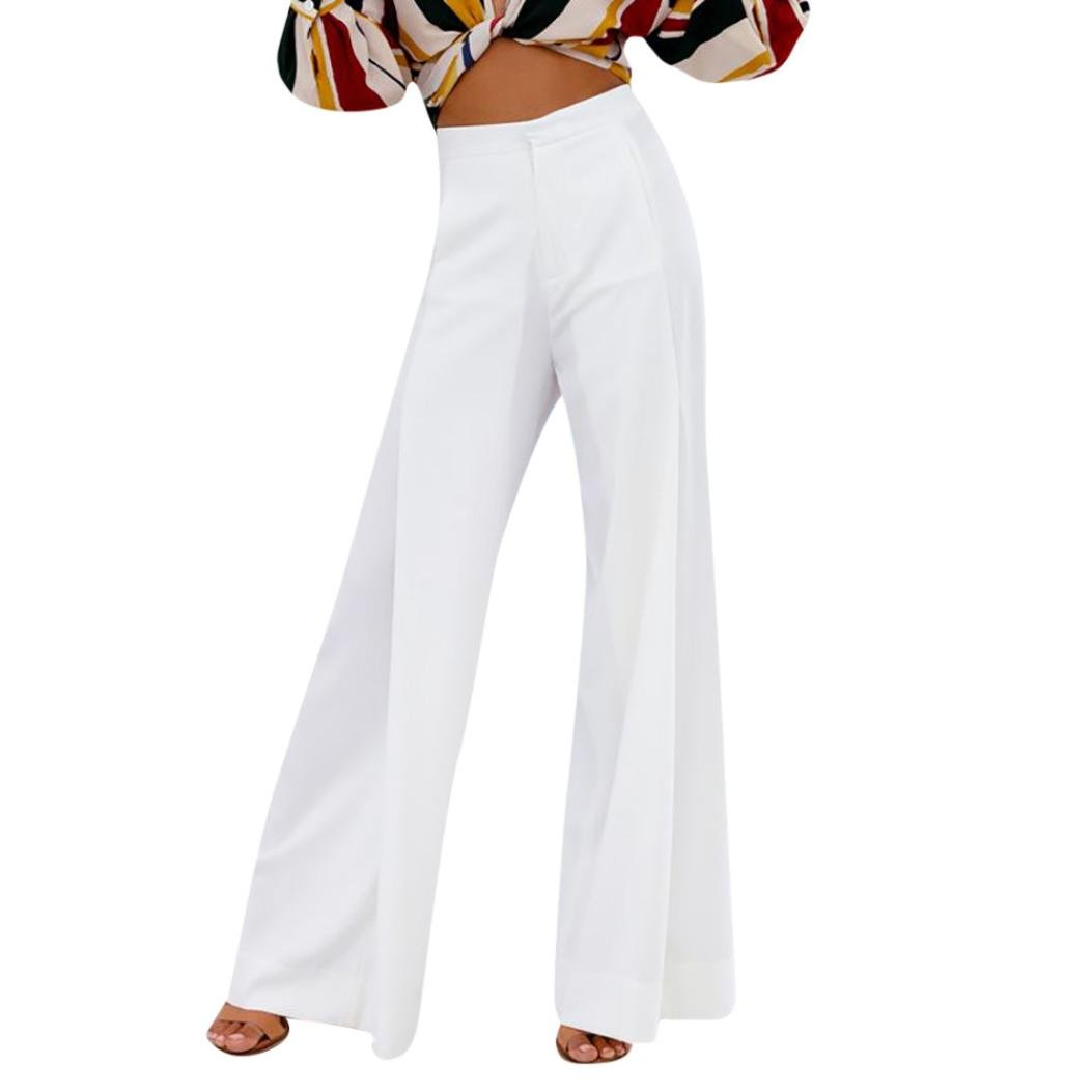 0673d2f1b4f4 ❊Material:Polyester♥♥Junior's worker bootcut pant with 2 back pockets high  waisted flare palazzo wide leg pants women's plus size 7-day knit capri new  ...