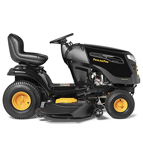 Poulan Pro PPX19A46, 46 in. 19 HP Poulan Pro Automatic Riding Mower with Steelguard