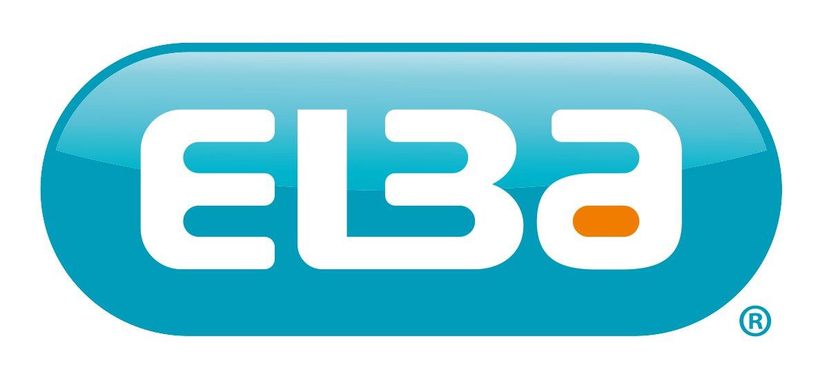 grau ELBA Unterschriftenmappe dehnbarer Leinenr/ücken