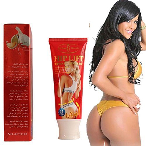 (AICHUN BEAUTY Best Effective Hip Lift Up Butt Bigger Buttock Cream Enlargement Natural Cellulite Bella Cream See Big As Re)