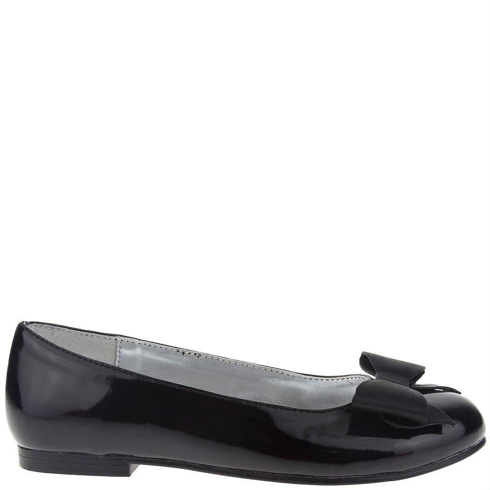 Size 1M Nina Kid Pegasus Black Patent Girls Loafers Shoes
