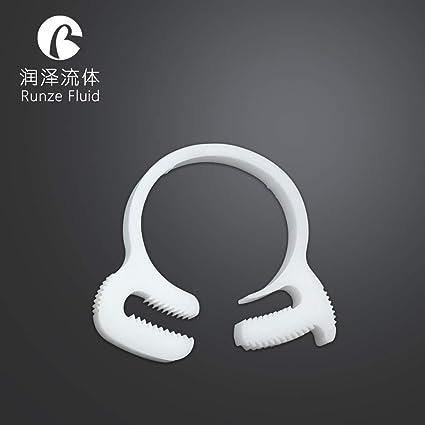Plastic Hose Clamps >> Amazon Com Ochoos Super Quality Tight Fixing Plastic Hose Clamps