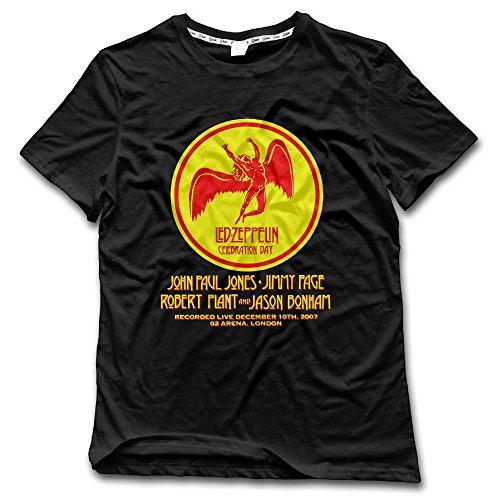 [Led Zeppelin Celebration Day Mens Fashion T Shirt] (Led Zeppelin Zoso T-shirt)