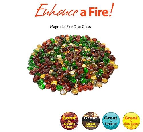 Enhance A Fire! Magnolia Burst Luxury Glass Media -