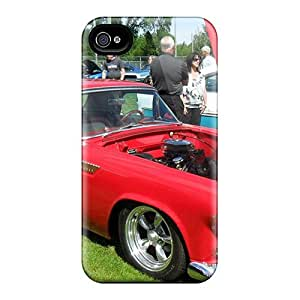 Snap-on Classic Ford Thunderbird Case Cover Skin Compatible With Iphone 4/4s