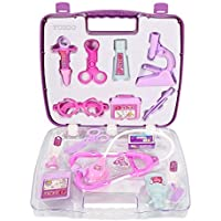 Portable Simulation Doctors or Nurses Role Play Game Medical Doctor's Toys Medicine Cabinet Sets for Children Kids
