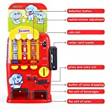 INSOON Interactive Vending Machine Toy Pretend Play