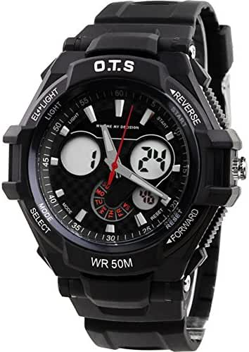Boys fashion sports watch/Multifunctional waterproof night Photonics table-G