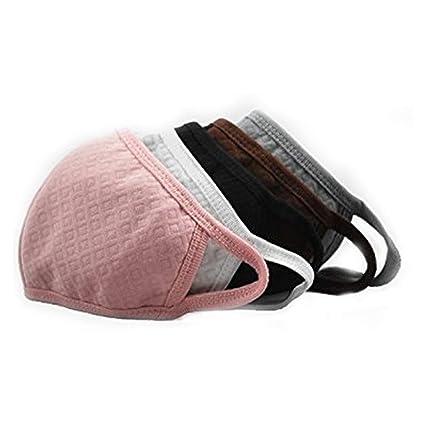 Trifycore 10 piezas de algodón caliente carbón activado máscara Máscara de polvo del oído de seguridad