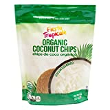 Fiesta Tropicalé Organic Coconut Chips, Unsweetened, 8 oz. (Pack of 3)
