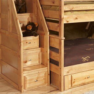 Chelsea Home Litera Completa con baúl de Escalera: Amazon.es: Juguetes y juegos