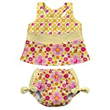 i play. Baby Girls' Bow Tankini Swimsuit with
