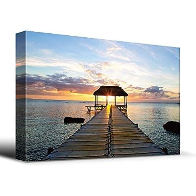 Beautiful Inspiring Calmness at Sunset, Quality Artwork, Astonishing Creative Design