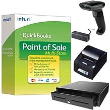 QuickBooks Desktop Point of Sale 18.0 Multi-Store New User w/ Hardware