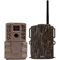 Moultrie A30 12MP 60 HD Video LowGlow IR Game Trail Camera + Mobile Field Modem
